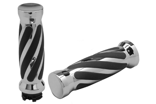 Pro One Twisted Grips for Most Kawasaki Models