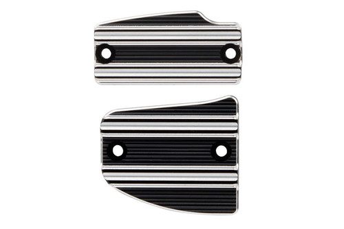 Arlen Ness  10-Gauge Master Cylinder Cover Set  For '14-Up Indian Scout  - Black