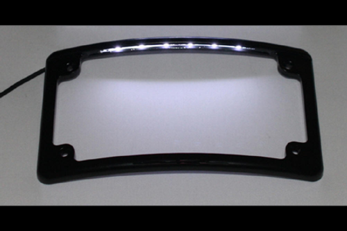 Custom Dynamics LED License Plate Frame -Black