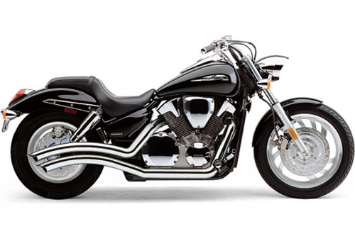 Cobra Speedster Swept Exhaust for VTX1300C  '04-Up