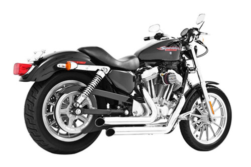 Freedom Performance Exhaust Declaration Turn Out for '14 & Up XL -Chrome