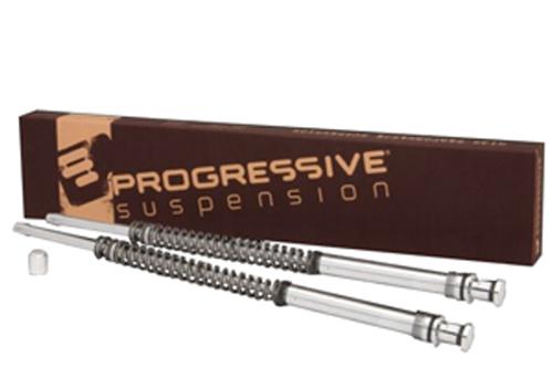 Progressive Suspension Monotube Fork Cartridge Kit for '00-10 FXST Models Lowering Kit 1