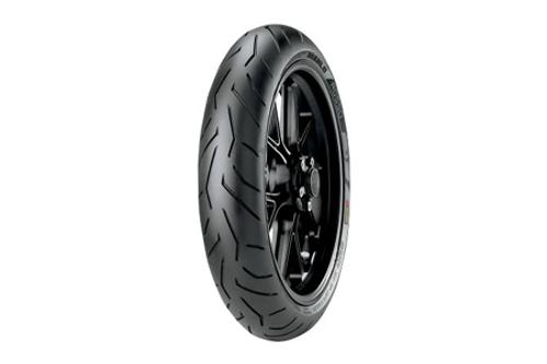 Pirelli Diablo Rosso II Tires FRONT 120/70ZR-17  TL  (58W)  -Each