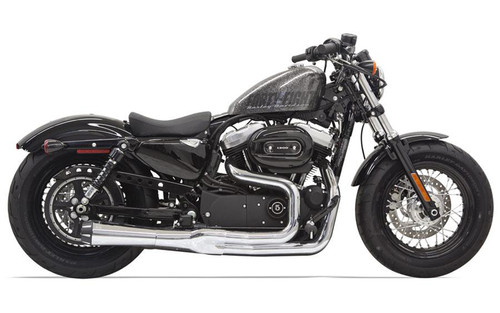 Bassani Road Rage II B1 Power System for '14-up XL Models w/ Mid or Forward Controls -Chrome