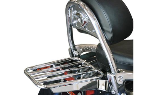 Cobra Luggage Rack for O.E.M Backrest on Nomad 1600 '05-up