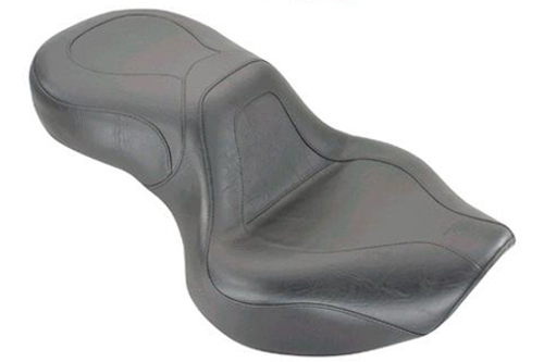 Mustang  One-Piece Seat  for VT750DC Spirit '01-03 & '05-up -Sport Vintage