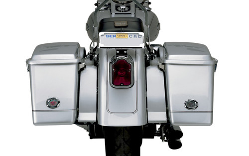 Cycle Visions Bagger-Tail Filler Panels for '86-07 FLST -Pair