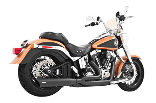 Freedom Performance Exhaust Union 2-Into-1 -for '86-17 Softail -Black