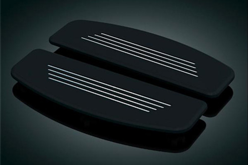 Kuryakyn Premium Inserts for FL & FLST Models w/ Traditional D-Shaped Passenger Boards -Pair