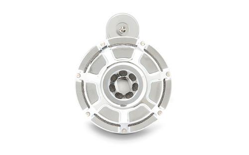 Arlen Ness Horn Kit for '08-14 FLHX -Beveled, Chrome