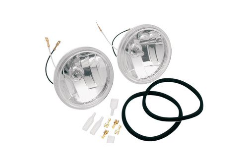 Adjure 4.5 inch Diamond Cut Ice-Smooth Passing Lamps -Pair