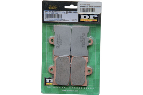 DP Brakes FRONT SDP Sport HH+ Sintered Metal Brake Pads for Certain H-D ModelsOEM# 44063-83C -Pair (Click for fitment)