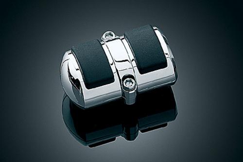 Kuryakyn Square Shift Peg Cover for V-Star 950 '09   Fits Heel Shift Only