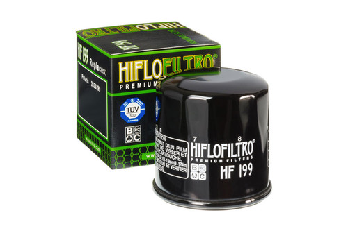 Hiflofiltro Oil Filter for Indian Scout Models - Black