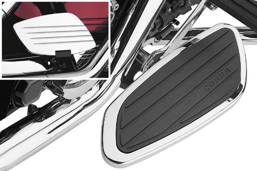 Cobra Rear/Passenger Floorboards for Vulcan 900/Classic LT '06-up -Swept Style