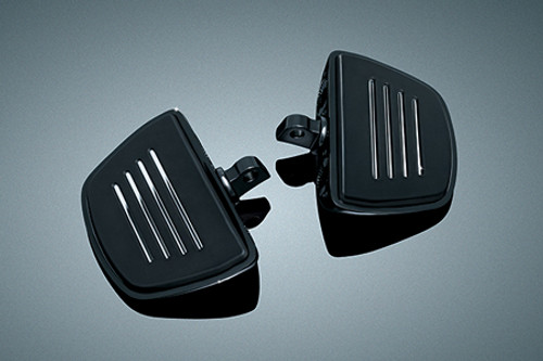 Kuryakyn Premium Mini Boards for H-D Style Male Mount Peg Applications -Gloss black (except '10-'13 Forty Eight, '11-'13 1200 Custom, '12-'13 Seventy Two)