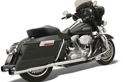 Bassani Stepped True Duals for FL Models '95-08 with Black End Caps