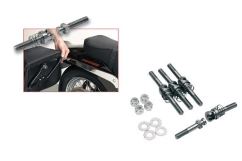 Cycle Visions Barebacks for '03-11 FLSTF/FXST & FXSTS w/ Detachable Sissy Bar -Kit