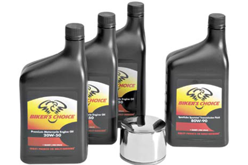 Bikers Choice Oil Change-In-A-Box for L87-12 Sportster Models