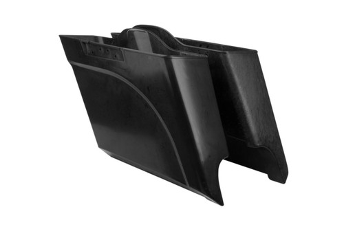 Arlen Ness 5 inch Stretched Angled Saddlebags for '14-Up Harley Davidson Touring Models (Set) Non-Painted