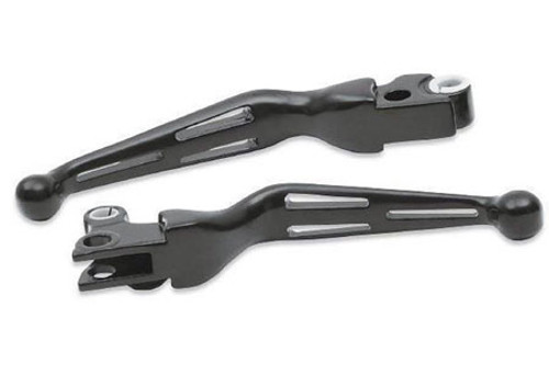 Drag Specialties Replacement Brake Lever for '96-17 Big Twin (Except '08-13 FLHT/FLHR/FLTR/FLHX & H-D FL Trike) & '96-03 XL for 0610-0142 Black, Each (1) Lever