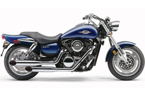 Cobra Deluxe  Slash-Cut Exhaust for Marauder 1600 and M95 Boulevard '04-up