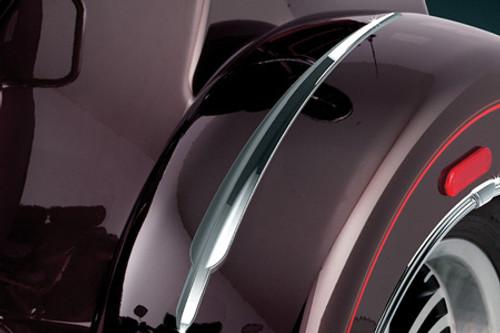 Kuryakyn Top Fender Accents for '09-12 Tri Glide Ultra Classic & '10-11 Street Glide Trike -Pair