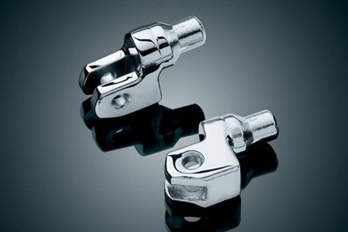 Kuryakyn Front Footpeg Adapters for 2014-Up Yamaha Bolt - Pair