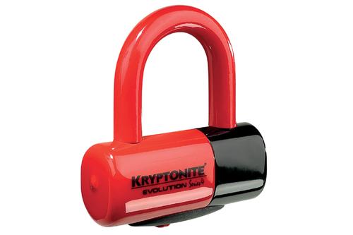 Kryptonite Evolution Series 4 Disc Lock -Red