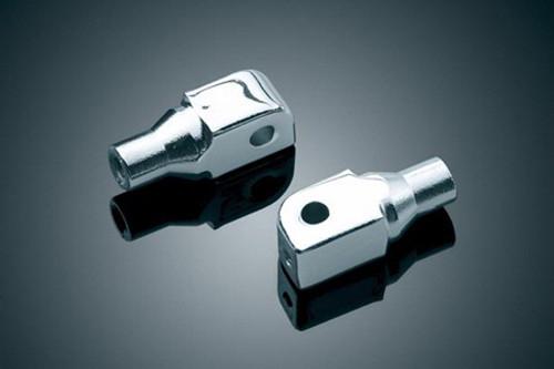 *CLEARANCE* Kuryakyn Rear Footpeg Adapters for Suzuki C50/M50/M90/C109R -Pair
