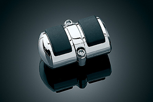 Kuryakyn Square Shift Peg Cover for V-Star 1100 Custom '99-Up   Fits Toe Shift Only