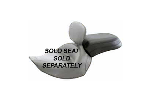 Mustang Narrow Recessed Rear Seat for Roadliner '06-10 & '12-13 Stratoliner '06-13(for Solos w/ a Backrest) -Vintage