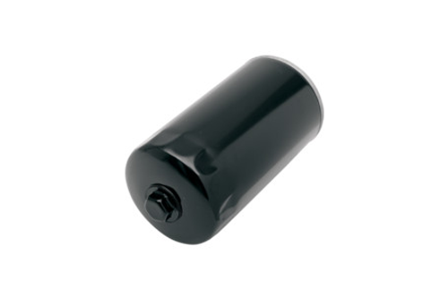 Drag Specialties Spin On Oil Filter for '91-98 Dyna Glide Repl. OEM #63813-90 -Black with Nut