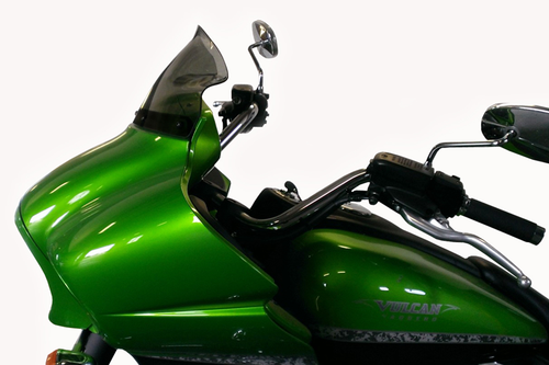 Klock Werks Flare Windshield for '09-19 Voyager & '11-19 Vaquero 1700 -12-inch Clear (Product shown in tint)