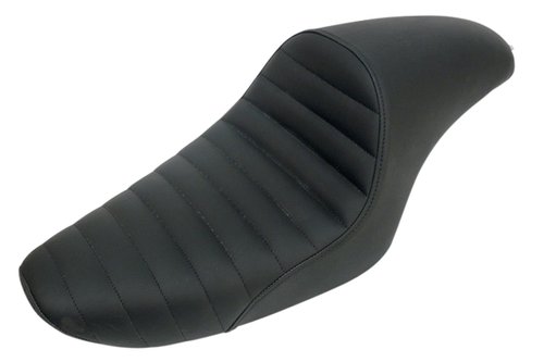 Saddlemen Americano Cafe Seat for '79-03 XL Models  -Classic, Pleated