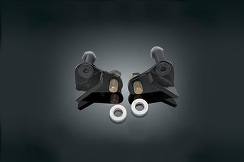 Burly Brand Rear Lowering Kit for  '85-96 FLHT/FLT/FLHR Black