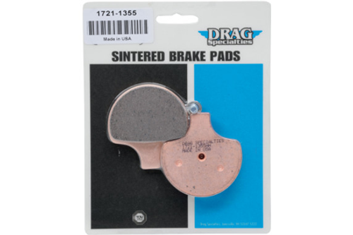 Drag Specialties FRONT Sintered Metal Brake Pads for Certain H-D Models OEM # 41854-08, 44063-83A/C, 44063-83A/83C-Pair (Click for fitment)