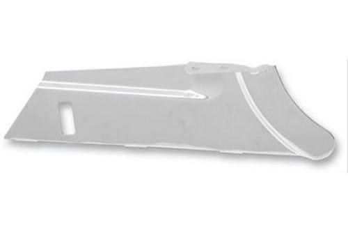 Drag Specialties Chrome Rear Lower Belt Guard for '97-08 FLHT/FLHX/FLHR/FLTR Replaces OEM #60491-02A