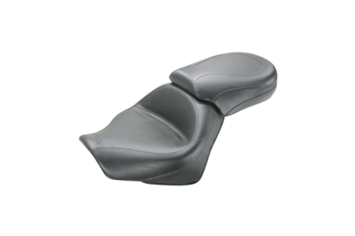 Mustang Two-Piece Wide Touring Seat  for Spirit 750 C2 '07-up & Phantom '10-20 - Plain/Vintage May not fit with Cobra Sissy Bars