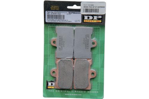 DP Brakes FRONT SDP Sport HH+ Sintered Metal Brake Pads for '09-12 XR1200R/X ModelsOEM# 42739-08 -Pair