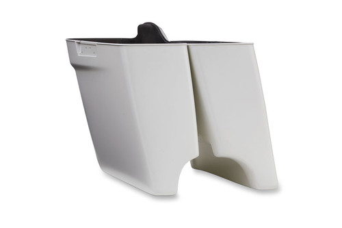 Cycle Visions 4 inch Extended Saddlebags for '14-Up FLHT/FLHR/FLHX Models Without Cutouts -Left Side (each)