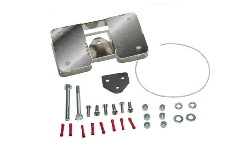 Easy Brackets Turn Signal Relocation Kit & Lay Down License Plate Mount for Softail & Sportster Models '01-Earlier
