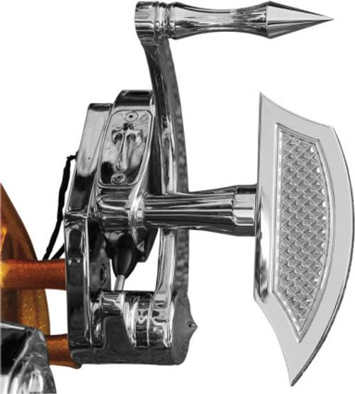 Eddie Trotta's Thunder Cycle Designs Mini Floorboards - Chrome