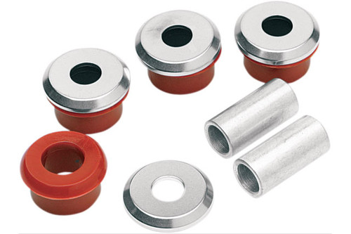 Alloy Art Heavy Duty Handlebar Riser Bushings for 99-17 Touring 2018-Up Softail models -Set of 4