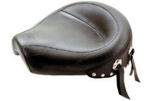 Mustang  Solo Seat  for Sportster '96-03 (& all 3.3 gallons) -Wide Studded