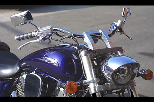 Baron Custom X-Bar Handlebar for Certain VTX1300/VTX1800 Models & V-Star 1300 & Tourer '07-11