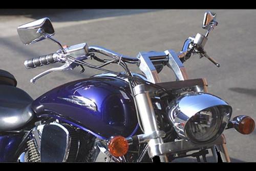 Baron Custom X-Bar Handlebar for Certain VTX1300/VTX1800 Models & V-Star 1300 & Tourer '07-11