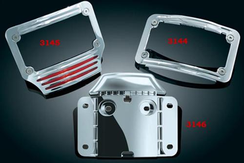 Kuryakyn Mounting Back Plate for '09 FLTRSE CVO Road Glides & '10-11 FLHXSE CVO Street Glides -Each