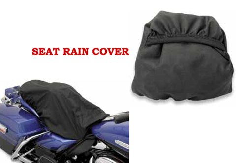 Drag Specialties Rain Cover for DS Low Profile Touring & Double Bucket Seats (with or without Backrest)