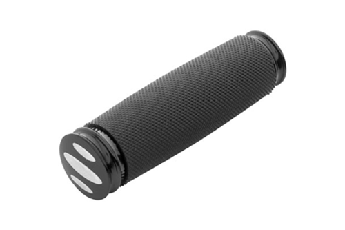 Arlen Ness  Soft Touch Shifter Peg for H-D Models -Black Scalloped, Knurled Rubber